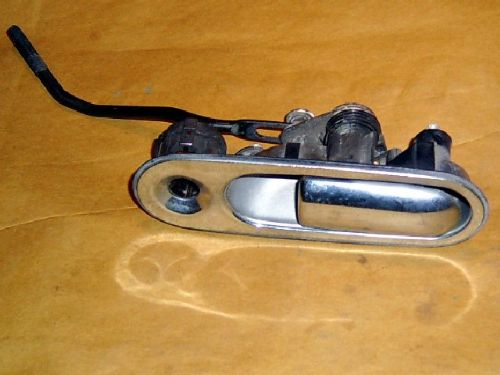 Door handle, external, l/h, chrome, Mazda MX-5 mk1, left hand, USED